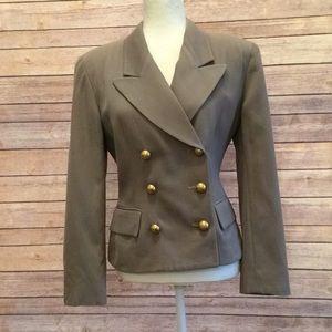 Vintage Wool Christian Dior Jacket- Size 10